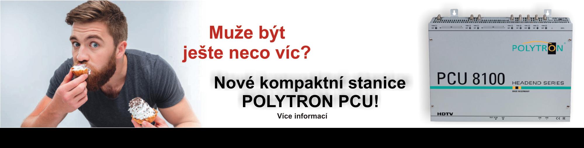Nové kompaktní stanice POLYTRON PCU 8112 a 8122