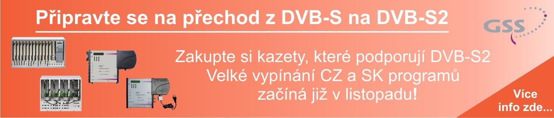 Připravte se na přechod z DVB-S na DVB-S2
