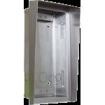 Helios-zápustná krabica + strieška pre 1 modul